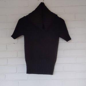 American Eagle Black Chunky Sweater